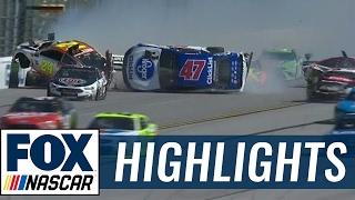 The Big One Strikes Late   2017 TALLADEGA   FOX NASCAR