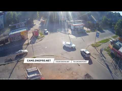 ДТП в Каменском на улице Конституции