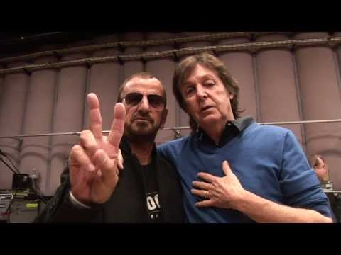 Ringo & Paul Backstage