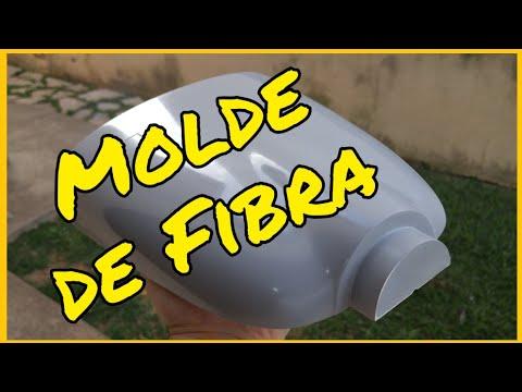 Molde de fibra de vidro