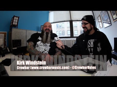 KIRK WINDSTEIN: CROWBAR 'Symmetry In Black', Leaving DOWN & Playing at Dimebag's Murder Scene!