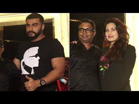Arjun Kapoor, Director Raj Kumar Gupta at the wrap up Party of their film India's Most Wanted