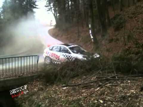 Kajetan Kajetanowicz (Subaru Impreza RT) test mistake