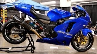10. 2004 stretched and custom kawasaki ZX12R