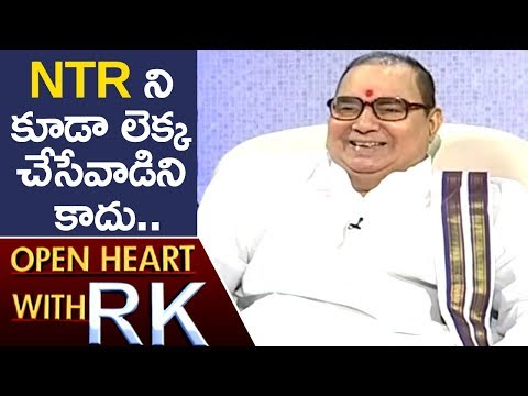 Nadendla Bhaskara Rao Over His Political Life | Open Heart With RK