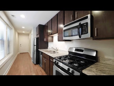 A renovated Lakeview East 2-bedroom, 2-bath at Belmont by Reside Flats