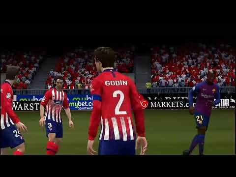 FIFA 19 PS VITA GAMEPLAY Fc Barcelone Vs Atletico : Finale