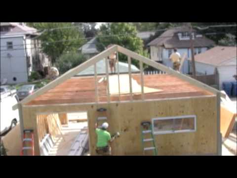 The Building of a Garage in 6 Minutes