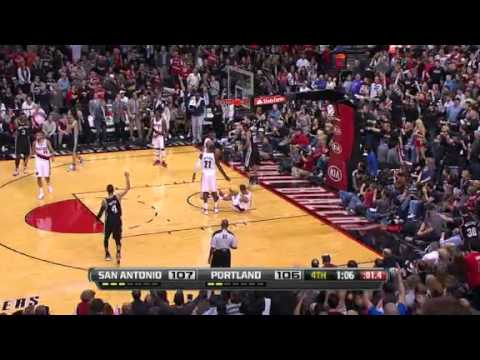 San Antonio Spurs 112 – Portland Trail Blazers 109