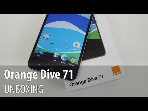 Orange Dive 71 Unboxing (Full HD/ English) - GSMDome.com