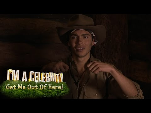 Union J's George Shelley Helps Susanna Fix Her Bra | I'm A Celebrity...Get Me Out Of Here!