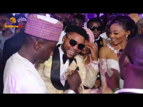 ORISTE FEMI AND WIFE SPECIAL DANCE AT THEIR LAVISH WHITE WEDDING #ON2017