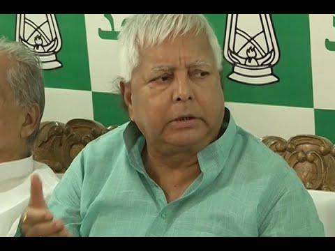 Nitish Kumar did not ask for Tejashwi's resignation: Lalu Prasad Yadav