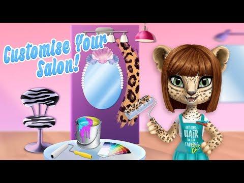 Pet Beauty Salon Decor with Leopard Amy! Amy's Animal Hair Salon  TutoTOONS Cartoons & Kids Games