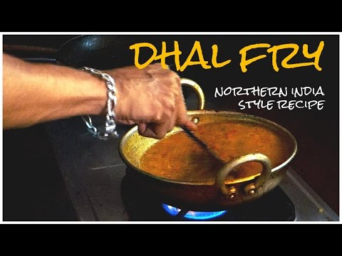 Dhal fry - Red lentils Northern India style