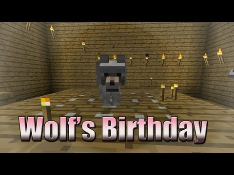 Wolf's Birthday - Minecraft