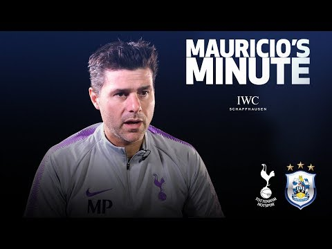 Video: MAURICIO PREVIEWS HUDDERSFIELD | MAURICIO'S MINUTE