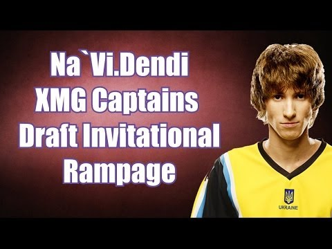 Dendi Rampage | XMG Captains Draft Invitational