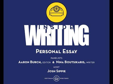 Inside Writing—Personal Essay (Season 2, Episode 7)