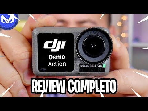 DJI OSMO ACTION REVIEW COMPLETO - VALE LA PENA ?