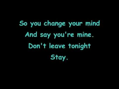 Hurts - Stay - lyrics