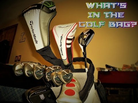 2014 What's In The Golf Bag? (Update)