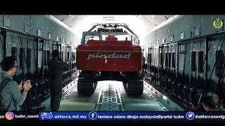 Video KEJAYAAN KEDUA PESAWAT A400M TUDM MENDARAT DI PALU DENGAN MUATAN 22 TAN MP3, 3GP, MP4, WEBM, AVI, FLV Mei 2019