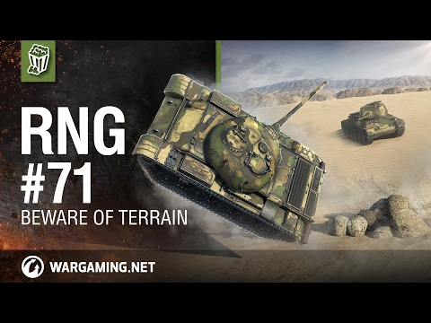 World of Tanks PC - Beware of terrain - The RNG Show Ep. 71