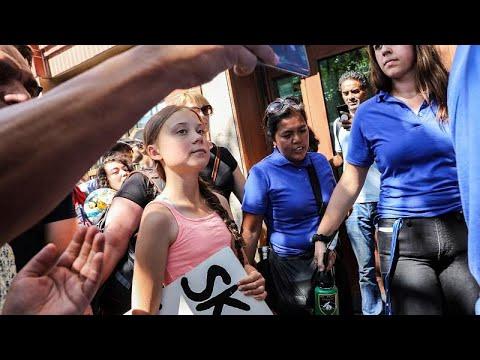 Διαδήλωση για το κλίμα στην Νέα Υόρκη