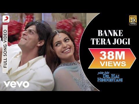 Video Banke Tera Jogi - Phir Bhi Dil Hai Hindustani | Shah Rukh Khan | Juhi Chawla download in MP3, 3GP, MP4, WEBM, AVI, FLV January 2017