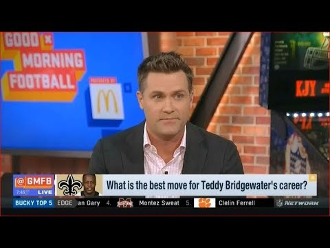 What is the best move for Teddy Bridgewater's career? | Good Morning Football