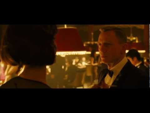 Image of 007 Skyfall OMEGA Seamaster Planet Ocean TV Commercial - Omega 007 James Bond Ad