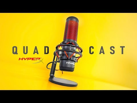 One Amazing Streaming Mic - Hyperx Quadcast