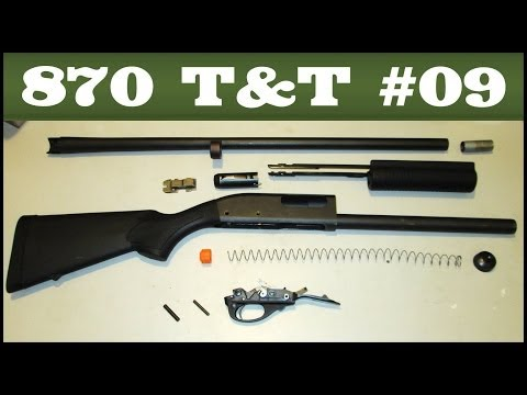 Basic Take-Down & Reassembly (all models) – Remington 870 Tips & Tricks #9