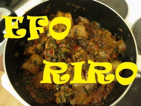 How to Cook Nigerian Ẹ̀fọ́ Rírò with Assorted Meat | Nigerian Food Recipes