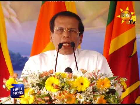 President describes how Moragahakanda dream became a reality