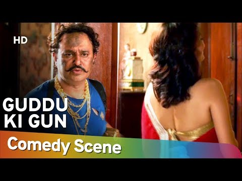 Guddu Ki Gun - Superhit Comedy Movie Scene - Jameel Khan - Payel Sarka - Shemaroo Comedy
