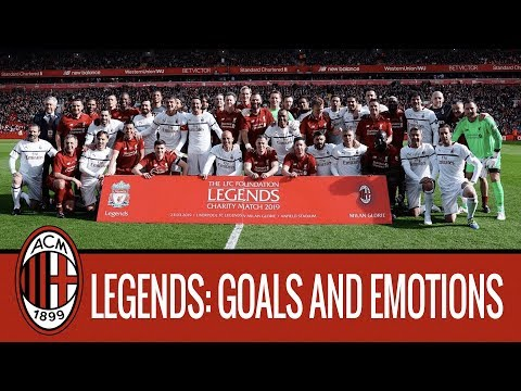 A Look Back On Liverpool Legends V Milan Glorie