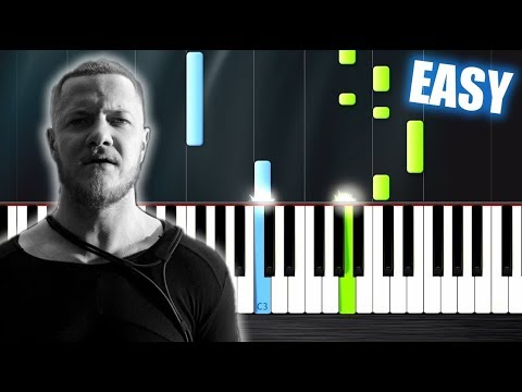 Video Imagine Dragons - Thunder - EASY Piano Tutorial by PlutaX download in MP3, 3GP, MP4, WEBM, AVI, FLV January 2017