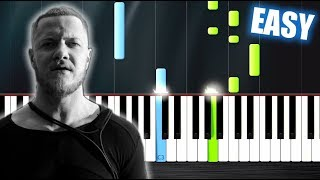 Video Imagine Dragons - Thunder - EASY Piano Tutorial by PlutaX MP3, 3GP, MP4, WEBM, AVI, FLV Januari 2018