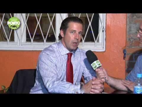 Ricardo Orlandini entrevista Valter Nagelstein presidente do PMDB-POA