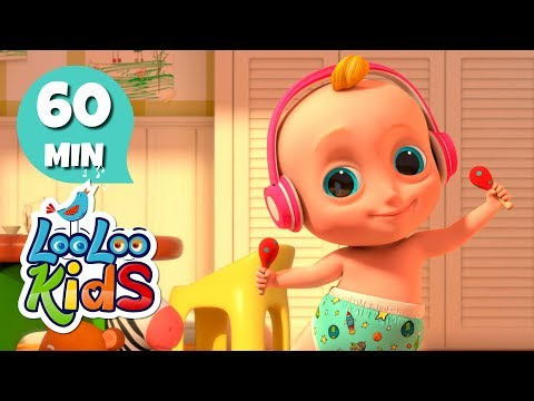 Looby Loo - Educational Songs For Children | LooLoo Kids