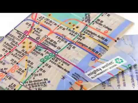 Subway Map Mighty Wallet!
