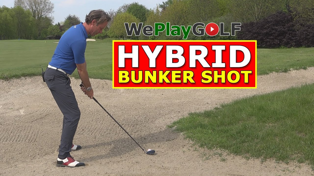 Can you play a BUNKER SHOT with a HYBRID? YES, and this is HOW!