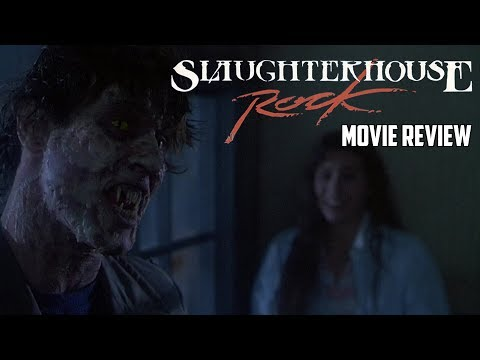 Slaughterhouse Rock (1988) Blu Ray Review Slasher Classics #32