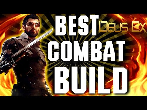 Deus Ex Mankind Divided - FUN Combat Build - Titan Shield Rampage