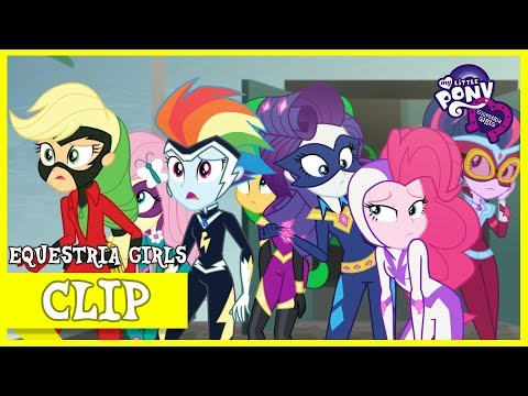 Power Ponies / Chasing The Relic Thief | MLP: Equestria Girls | Special: Movie Magic [HD]