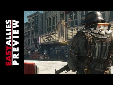 Wolfenstein II: The New Colossus - Impressions from Roswell