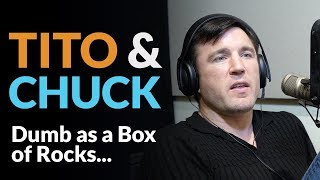 "Video ""Tito Ortiz and Chuck Liddell are dumb as a box of rocks and are getting played by De La Hoya."" MP3, 3GP, MP4, WEBM, AVI, FLV April 2019"