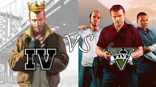 Video Why GTA IV is better than GTA V? (10 Reasons) - PART 2 MP3, 3GP, MP4, WEBM, AVI, FLV September 2019